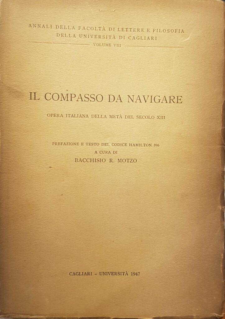 copertina di un volume storico Il compasso da navigare