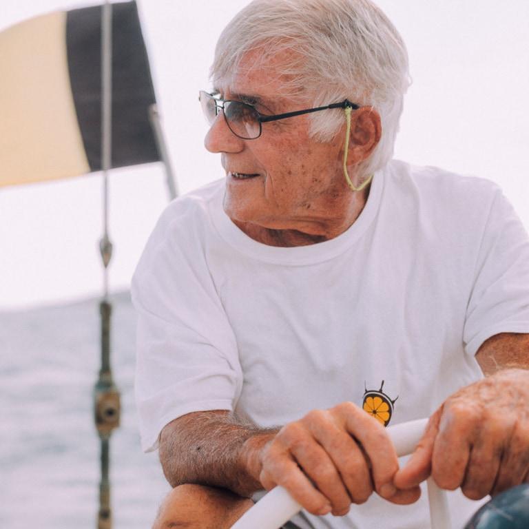 Jan Paul Basseget navigatore capitano