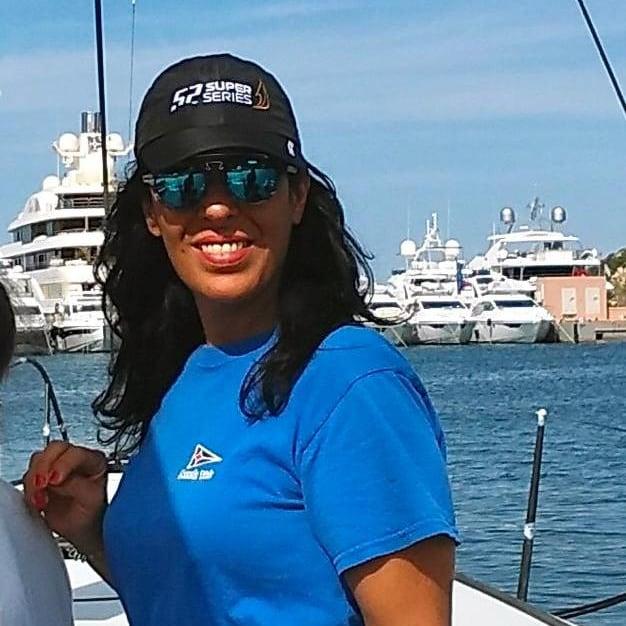 Monica Piras YCCS sailing instructor